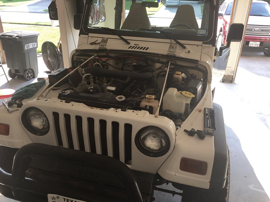 Changing a hood, how hard can it be?