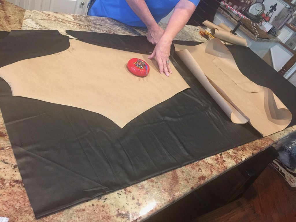 Cutting top leather layer